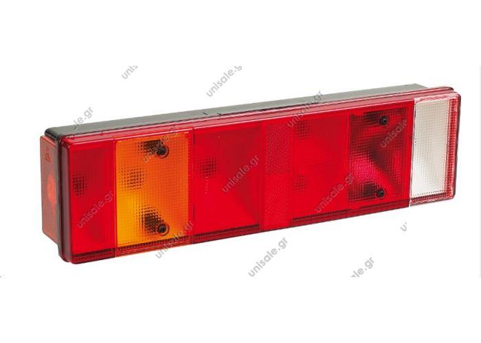 R-2034 L-2035   DASTERI  OΠΙΣΘΙΟΣ ΦΑΝΟΣ 7 ΛΕΙΤΟΥΡΓΙΩΝ ΣΕΙΡΑ 2030 2030 Description:Όπισθεν Θυέλλης Διπλό πορείας Αντανακλαστήρας Στοπ Φλας Φανός Όγκου Με φως πινακίδας (PL) Με