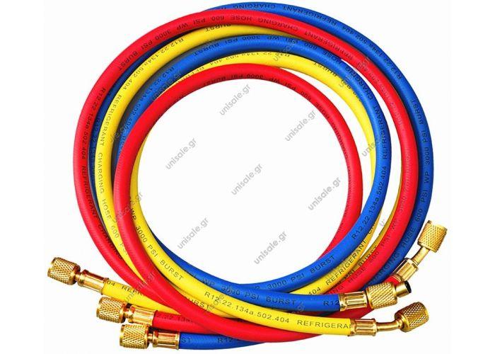 """9881268  CL-72-Y72"""" Yellow hose    REFCO  ΣΩΛΗΝΕΣ    ΠΛΗΡΩΣΗΣ       9881259CL-72-R72"""" Red hose   REFCO  ΣΩΛΗΝΕΣ    ΠΛΗΡΩΣΗΣ      9881250  CL-72-B72"""" Blue hose   REFCO  ΣΩΛΗΝΕΣ    ΠΛΗΡΩΣΗΣ"""