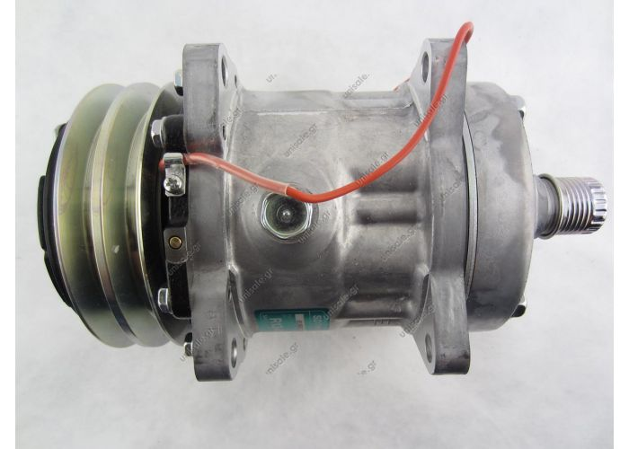 7301 7324   (1101365)  SANDEN   ΚΟΜΠΡΕΣΕΡ   SD7H13  12V     OEM SANDEN COMPRESSOR SD7H13 7301 2A 12V 125mm HOR KG HEAD