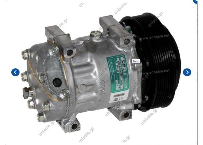 SANDEN FIX R134A SD7H15   CATERPILLAR : 3729360, 372-9360, 461-2805  NEW Sanden 7H15 SD7H15 6173 6094 Auto Car AC A/C Compressor FOR CATERPILLAR CAT 374F 349E EXCAVATOR 5096498 3729360 4612805