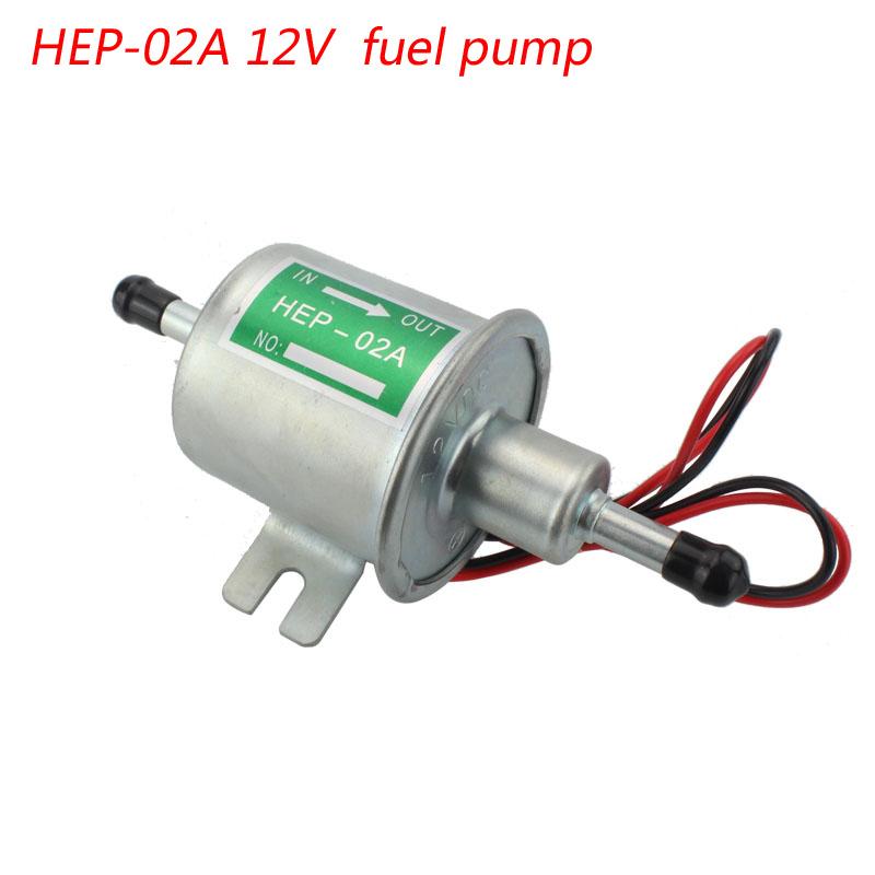 Hep 02 High Qulity 12v Electric Fuel Pump For Car
